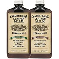 Chamberlain's Leather Milk Straight Cleaner Nr. 2 & Boot & Shoe Cream Nr. 6 - Set aus Reiniger & Conditioner für... preisvergleich bei billige-tabletten.eu