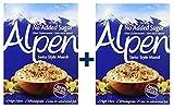 Weetabix Alpen Muesli senza zucchero 560 g, confezione da 2 pezzi (2x560g)