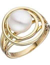 Goldring breit  Suchergebnis auf Amazon.de für: breiter goldring ring damenring ...