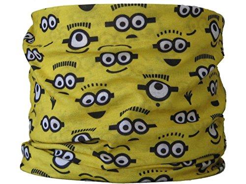 Multifunktions-Schlauchtuch, Gelbe Augen