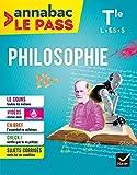 Philosophie Tle L,ES,S : Pour réviser le bac en grand format (Annabac Le Pass) (French Edition)