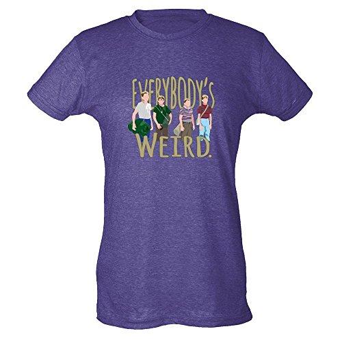 Pop Threads Herren T-Shirt Erikaviolett