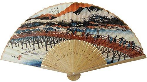 Kyo-Sensu Hochwertige Kawaii Faltfächer aus Japan traditionelles japanisches Handwerk