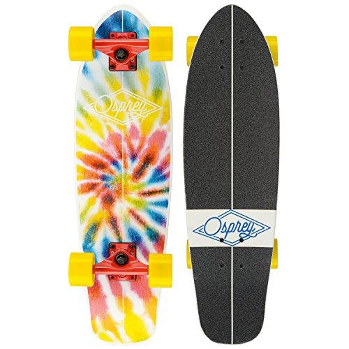 Osprey Skate Cruisers - Osprey Skate Mini Tie Dye Cruiser - 27.5 Inch -