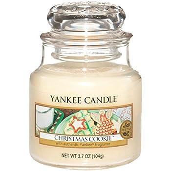 Yankee Candle Christmas Cookie Jar Candle - Small: Amazon.co.uk ...