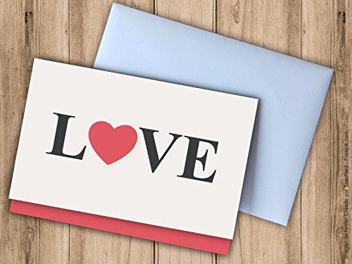 Tarjeta regalar dinero boda LOVE. Sobres bodas