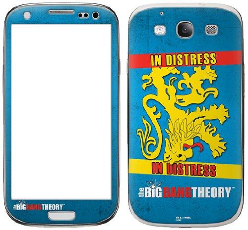 Zing Revolution The Big Bang Theory Premium Vinyl Selbstklebende Schutzfolie für Samsung Galaxy S III, Wohnungs Flagge (ms-tbbt80415)