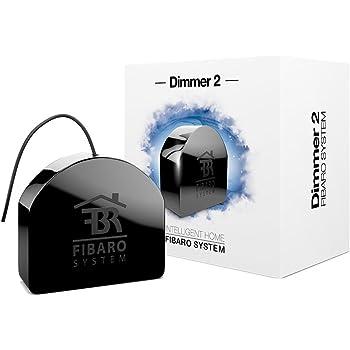 Fibaro Dimmer 2 - dimmers (Dimmer, freestanding, Black)