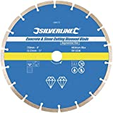 Silverline 589673 Concrete and Stone Cutting Diamond Blade 230 x 22.2 mm