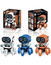Amisha Gift Gallery® Octopus Shape Robot Electric Robot Colorful Music Flashing Lights Dance Toy for Kids Boys Girls Birthday Gift Robot Toy for Kids ( Colors : Assorted )