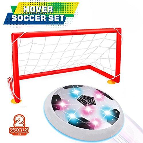 DMbaby Jouets pour 3-12 ans, Hover Ball Avec 2 Cadeaux Portes pour Gar