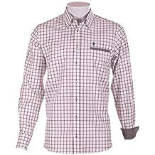 Pasión Morena 84PA010560503 Camisa, Hombre, Verde, ...