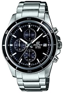 Casio Men's Analogue Quartz Watch with Stainless Steel Bracelet EFR-526D-1AVUEF (B00BFN2VHQ) | Amazon price tracker / tracking, Amazon price history charts, Amazon price watches, Amazon price drop alerts