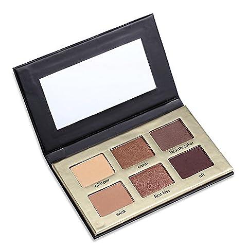 JGB 6 Earth Colors Nude Matte Eye Shadow Powder Palette Natural Eyeshadow Pallet Waterproof Makeup