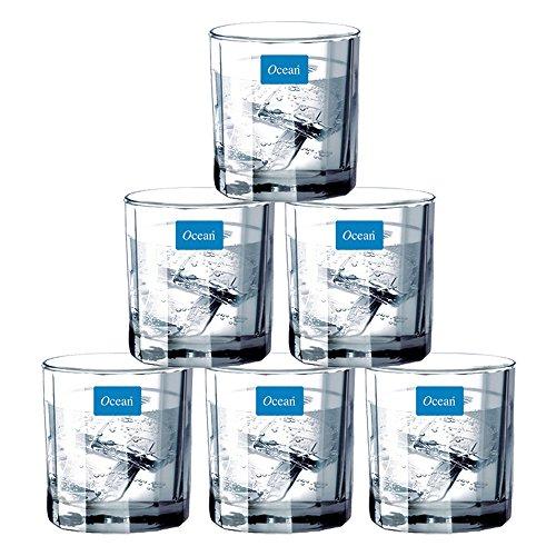 Ocean Victoria Glass Set, 6-Pieces, 325ml,Transparent