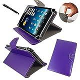 Medion LifeTab S8311 MD 98983 / 20,32cm / 8.0 Tablet PC Tasche mit Verstellbarer Standfunktion - 8 Zoll Lila