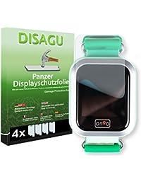Disagu Anio 3 Touch Displayschutzfolie - 4 x Panzerfolie für Anio 3 Touch Bruchschutzfolie (verkleinerte Folie)