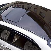 DiversityWrap BRILLO NEGRO ACABADO CAR VINILO TECHO wrapping BURBUJA DE AIRE LIBRE BRILLANTE (4m x135cm (400 x135cm))