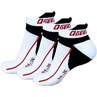 Ogeenier 3P Hombre Calcetines Deporte Socks Performance Algodón Calcetines para Running Ciclismo Calcetines unisex