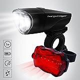 Bergsteiger Fahrradlicht 1 Watt, Licht LED Set, Lampenset, Fahrradbeleuchtung, Original Bergsteiger Fahrrad-Zubehör
