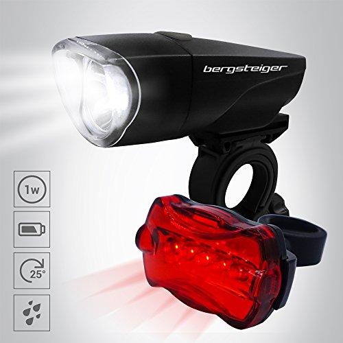 Bergsteiger Fahrradlicht 1 Watt, Licht LED Set, Lampenset, Fahrradbeleuchtung, Original Bergsteiger Fahrradzubehör