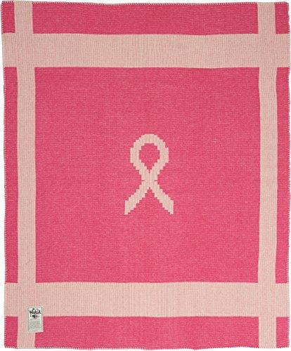 Woolrich, Inc. Brustkrebs Bewusstsein Wolle Decke (127x 152,4cm) rose