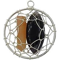 Harmonize Achat Stein Handcrafted Draht umwickelt Reiki Kristall Anhänger Halskette Jewlery preisvergleich bei billige-tabletten.eu