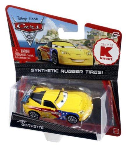 Disney Pixar Cars 2 - Jeff Gorvette - Voiture Miniature Echelle 1:55