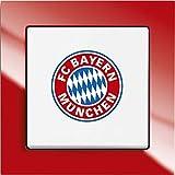 Busch-Jaeger 1012-0-2201 Wechselschalter 2000/6UJ/03 Fanschalter FC Bayern München