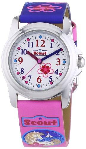 Scout Mädchen-Armbanduhr Analog Quarz Plastik 280301010