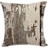 YISUMEI Kissenbezug 80x80 cm Home Decor Sofa Werfen Kissenbezüge Pillowcases Gesprenkelte Holz Textur In Old Fashion Style