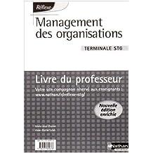 Management des organisations Tle STG : Livre du professeur by Marie-José Chacon (2009-03-02)