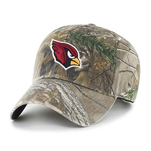 NFL Realtree OTS Challenger verstellbar Hat, Unisex - Erwachsene, NFL Realtree OTS Challenger Clean Up Adjustable Hat, Realtree Camo, Einheitsgröße -