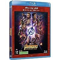 Avengers Infinity War - Blu-Ray 3D + Blu-Ray 2D + bonus