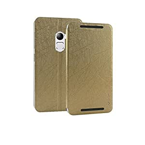Karpine Flip Cover For Lenovo K4 Note - Gold