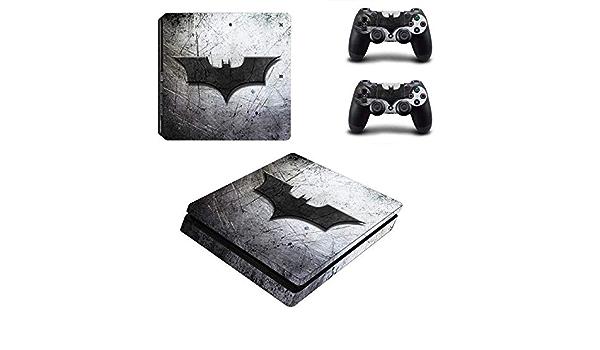 FENGLING Accessoires de Jeu Batman Design Ps4 Peau Autocollant Vinyle Autocollant pour Sony Playstation 4 PS 4 Console et contr/ôleurs