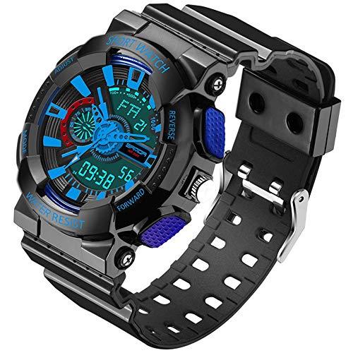 Sauerstoff Sammlung (LWPCP Herren LED Digital Multifunktions Wasserdichte Sport Militär Shock Uhren)
