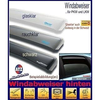 Climair Windabweiser hinten 04-4351D, Farbausführung: schwarz