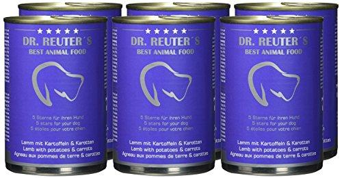 Dr. Reuter's Hundefutter Lamm mit Kartoffeln und Karotten, 6er Pack (6 x 400 g) - 2