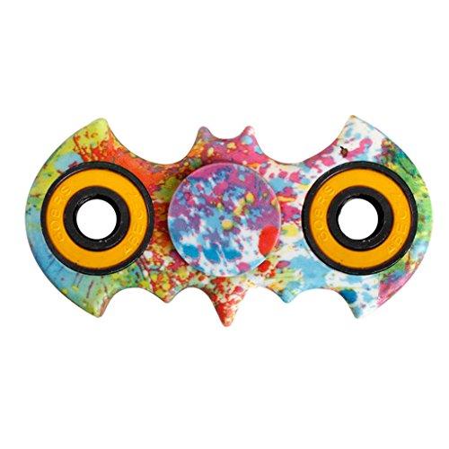YIGA Fidget Spinner Fidget Mano Dito Spinner Spin Widget Focus Giocattolo Antistress Alta Velocità Superb Acciaio Inox Cuscinetto Fidget Toy - Perfetto per Ansia bambini per adulti (2-1)