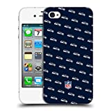 Official NFL Patterns 2017/18 Seattle Seahawks Hard Back Case for Apple iPhone 4 / 4S