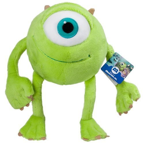 "Image of Official 'Mike Wazowski' of Monsters Inc 8"" Plush toy - Disney/Pixar"