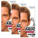 Just For Men Autostop - Tinte para el pelo, color rubio arenoso – A10, 3 unidades