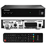 Strong SRT 7501 HD Satelliten Receiver für ORF-Karte DVB-S2 Full HD (HDTV, HDMI, SCART, USB, Koaxialausgang) Schwarz
