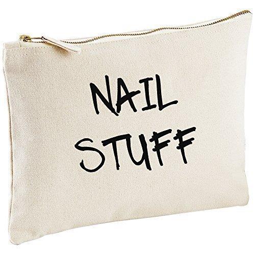 Vernis à ongles Stuff Toile naturelle Make Up sac cadeau Idée Cadeau Sac cosmétique trousse de toilette cadeau