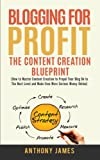 Blogging for Profit: The Content Creation Blueprint (How to Master Content Creation to Propel Your Blog On to the Next Level and Make Even More Serious Money Online)