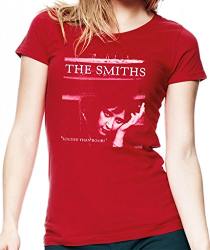 the-smiths-louder-than-bombs-womens-fit-fashion-quality-heavyweight-t-shirt-red-medium