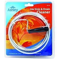 Cable limpiador para baño (2m) - Desatascador de desagues/tuberías - Sink & Drain Cleaner