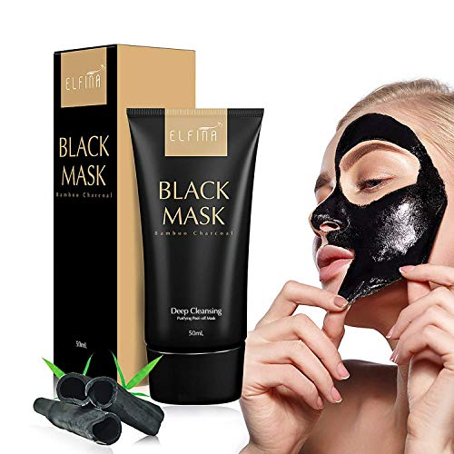 Elfina Black Mask Máscara Facial de Barro Negro