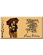 Incredible Gifts India Unique Engraved Birthday Personalize